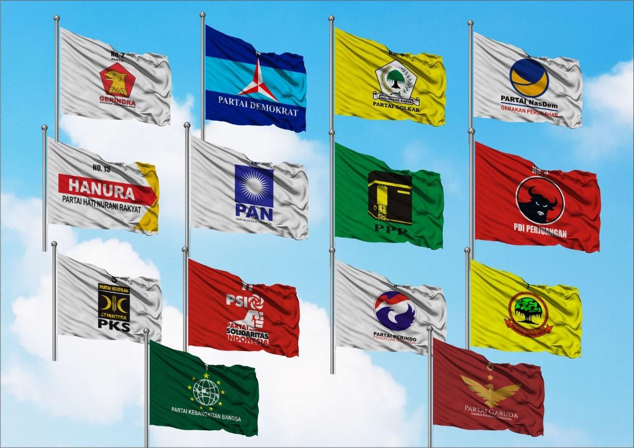 sablon bendera murah